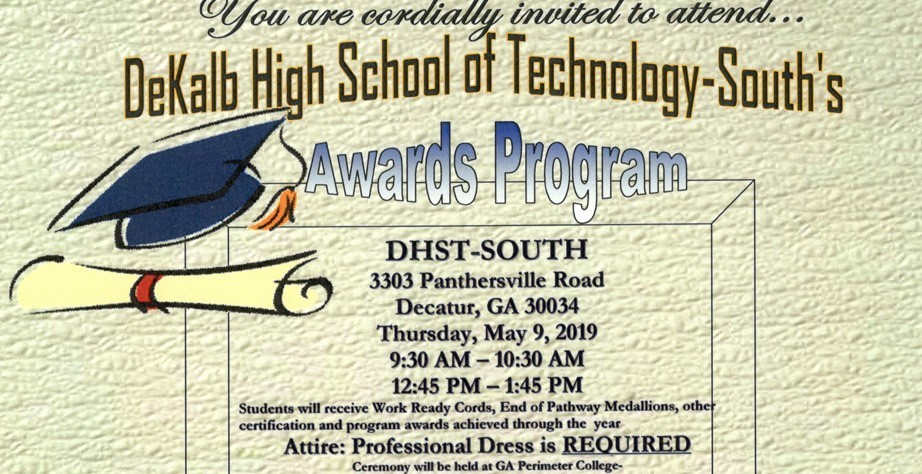 DeKalb High School of Technology - South Honors Day Awards Ceremony